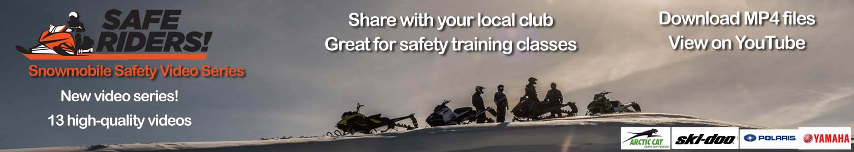 Safe Riders Snowmobiling Video Series