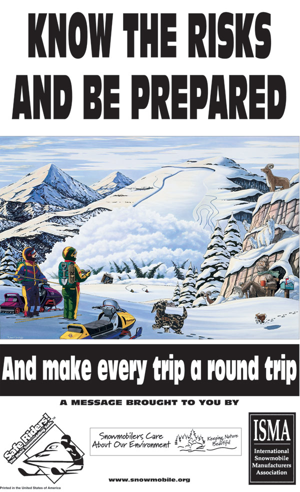 Snowmobile Posters And Line Art Isma International